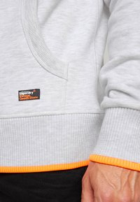 Superdry - VINTAGE LOGO NEON TIP HOOD - Sweat à capuche - ice marl - 4
