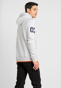 Superdry - VINTAGE LOGO NEON TIP HOOD - Sweat à capuche - ice marl - 2