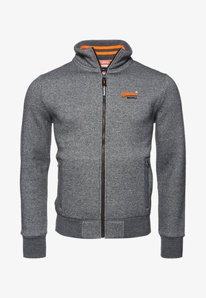 ORANGE LABEL - Sudadera con cremallera - grey