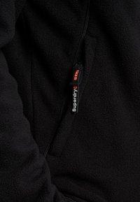 Superdry - POLAR INTERNATIONAL TRACK - Fleece trui - black - 3