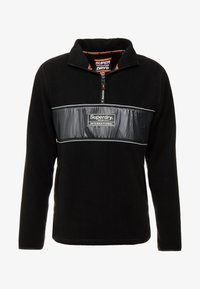 Superdry - POLAR INTERNATIONAL TRACK - Fleece trui - black - 5