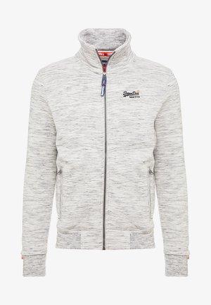 ORANGE LABEL TRACK - Zip-up hoodie - ash grey heather
