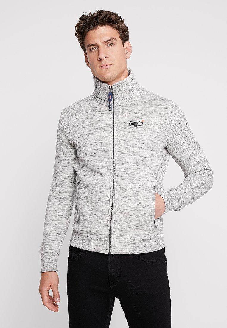 Superdry - ORANGE LABEL TRACK - Zip-up hoodie - ash grey heather