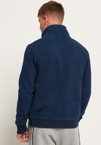Superdry - ORANGE LABEL TRACK - Sudadera con cremallera - dark indigo