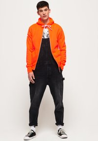 Superdry - LA ATHLETICS - Hoodie met rits - orange - 1