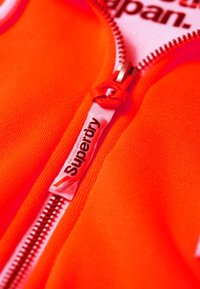 Superdry - LA ATHLETICS - Hoodie met rits - orange - 3