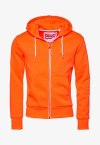 Superdry - LA ATHLETICS - Hoodie met rits - orange - 4
