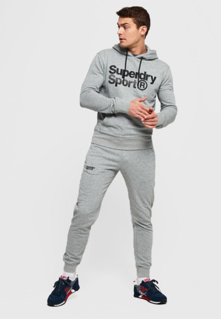 Superdry Luvtröja - Heather Gray