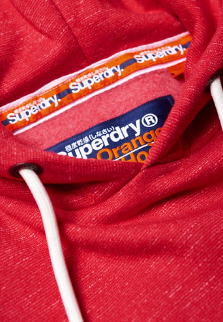 Superdry ORANGE LABEL - Sweat à capuche - red feeder