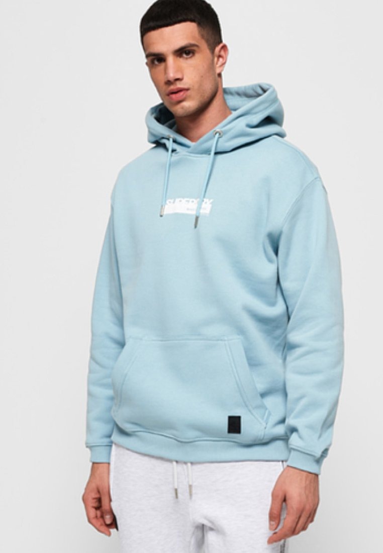 Superdry - BLACK LABEL  - Hoodie - ceramic blue
