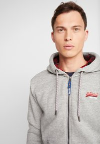 Superdry - Bluza rozpinana - jasper grey grindle - 3