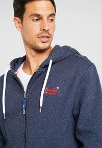 Superdry - ORANGE LABEL CLASSIC ZIPHOOD - Zip-up hoodie - midnight blue feeder - 4