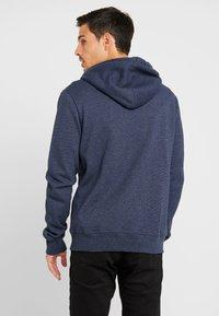Superdry - ORANGE LABEL CLASSIC ZIPHOOD - Zip-up hoodie - midnight blue feeder - 2