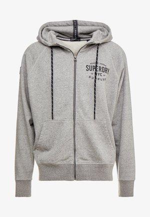 SURPLUS GOODS  - Zip-up hoodie - light grey