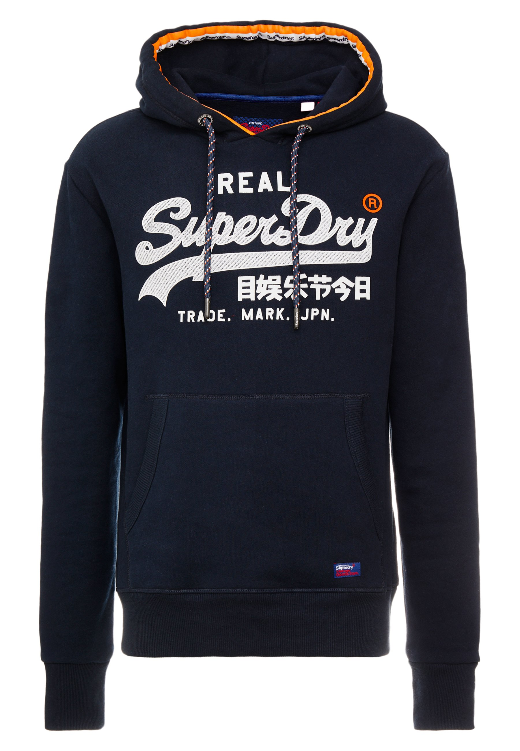 Superdry VINTAGE AUTHENTIC veste en sweat zippée navy