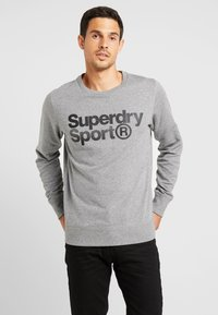 Superdry - CORE SPORT CREW - Bluza - grey marl - 0