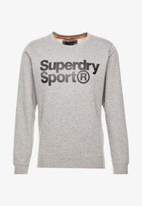 Superdry - CORE SPORT CREW - Bluza - grey marl - 3