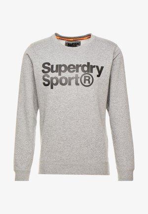 CORE SPORT CREW - Sweatshirt - grey marl