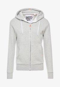 Superdry - ZIP HOOD - veste en sweat zippée - grey marl - 5