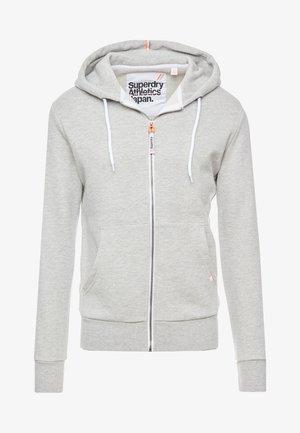 ZIP HOOD - veste en sweat zippée - grey marl