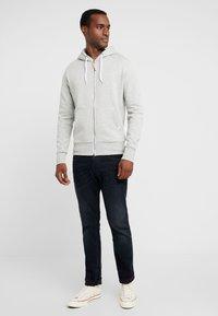 Superdry - ZIP HOOD - veste en sweat zippée - grey marl - 1