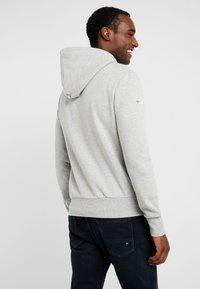 Superdry - ZIP HOOD - veste en sweat zippée - grey marl - 2