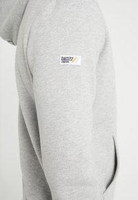Superdry - ZIP HOOD - veste en sweat zippée - grey marl - 4