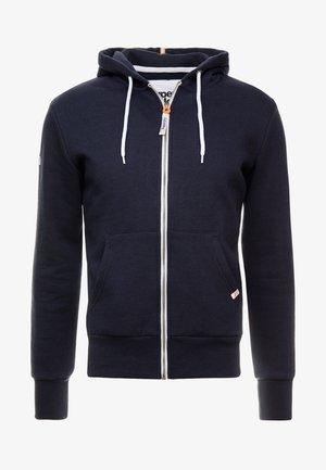 ZIP HOOD - Zip-up hoodie - american navy