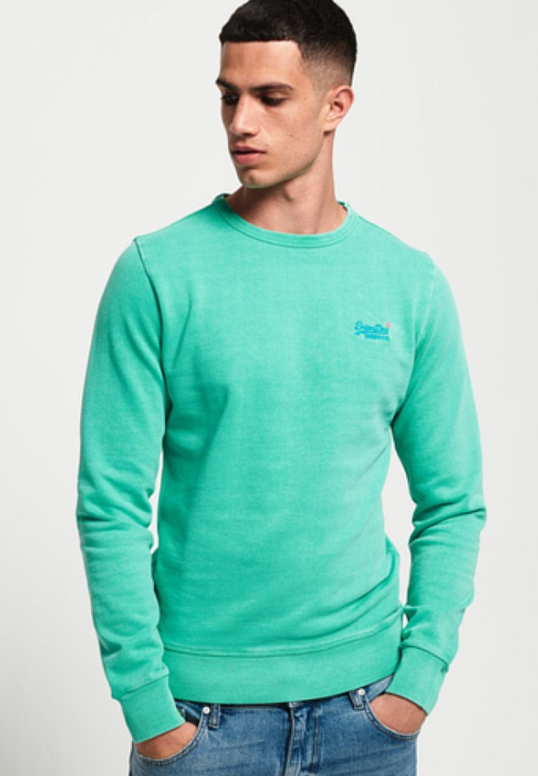 Orange Superdry Green Orange Green LabelSweatshirt Orange LabelSweatshirt Superdry Superdry rQdtsh