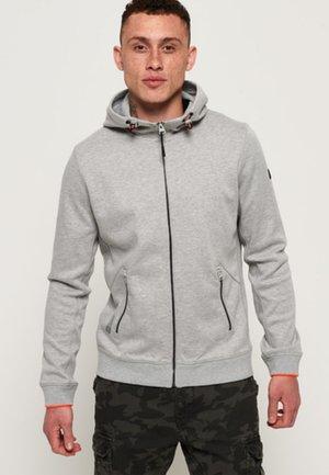 Hoodie met rits - light grey