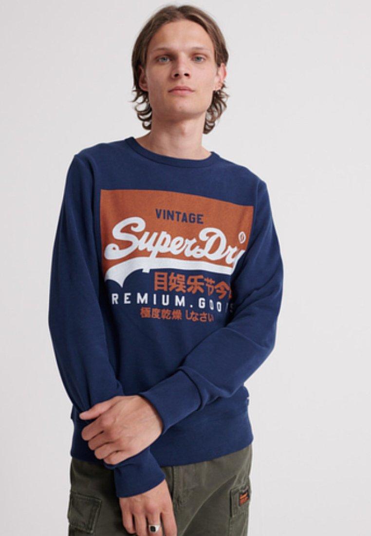 Blue Blue Superdry SweatshirtRoyal SweatshirtRoyal Superdry Superdry SweatshirtRoyal Blue Superdry SpqUMVz