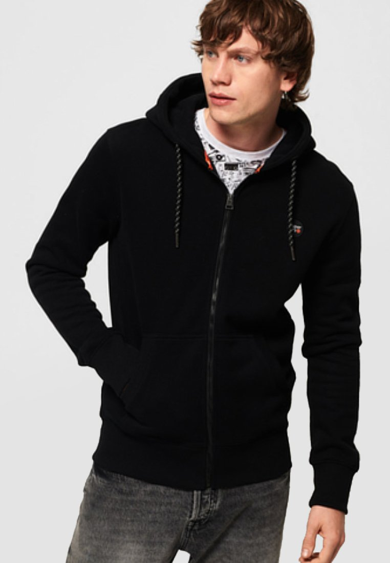 Superdry - COLLECTIVE - Sweatjacke - black