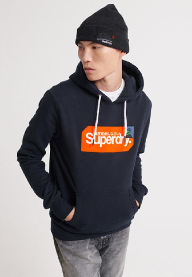 Superdry Bluza z kapturem - blue