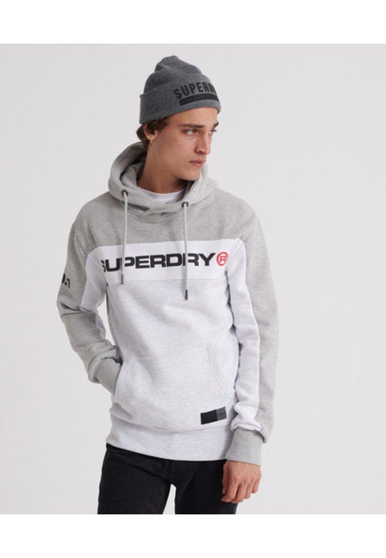 Dark Capuche À Superdry TrophySweat Grey 08OnwPk