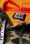 Superdry - Sweatshirt - camouflage pattern/ bright orange