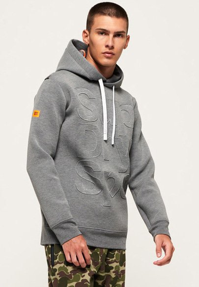 Superdry - COMBAT SCUBA  - Sweater - grey