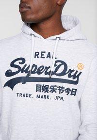 Superdry - HOOD - Hoodie - ice marl - 5