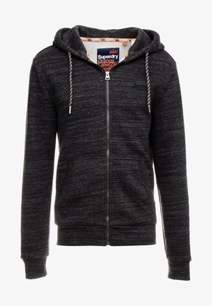 ZIP HOOD - Bluza rozpinana - vast black space