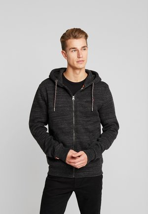 ZIP HOOD - Hettejakke - vast black space