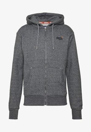 CLASSIC ZIP HOOD - Hoodie met rits - dark grey