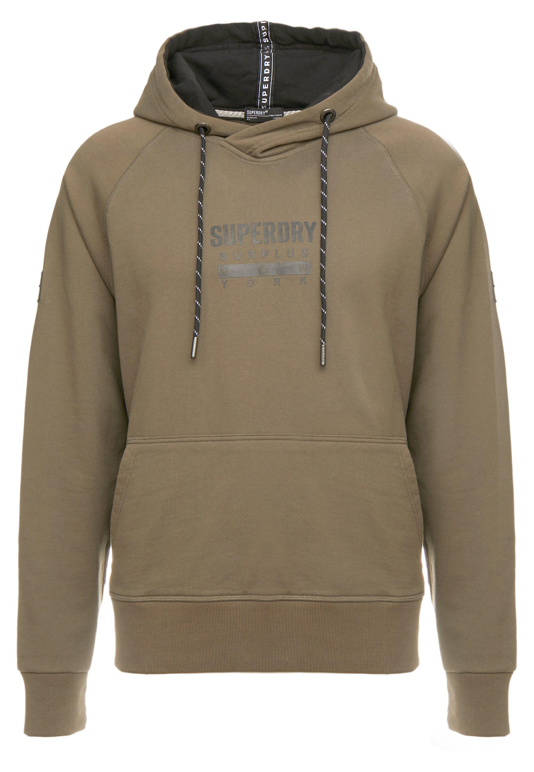 Superdry Surplus Goods New Graphic Hood - Hoodie Deep Olive
