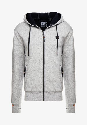 TREKKER ZIP HOOD - veste en sweat zippée - slope grey marl