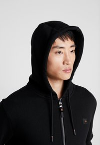Superdry - TREKKER ZIP HOOD - Sweatjacke - black - 4