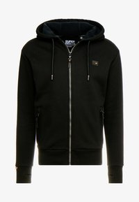 Superdry - TREKKER ZIP HOOD - Sweatjacke - black - 3