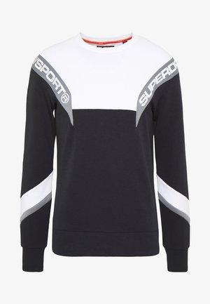 TRACK CREW - Sweatshirt - black