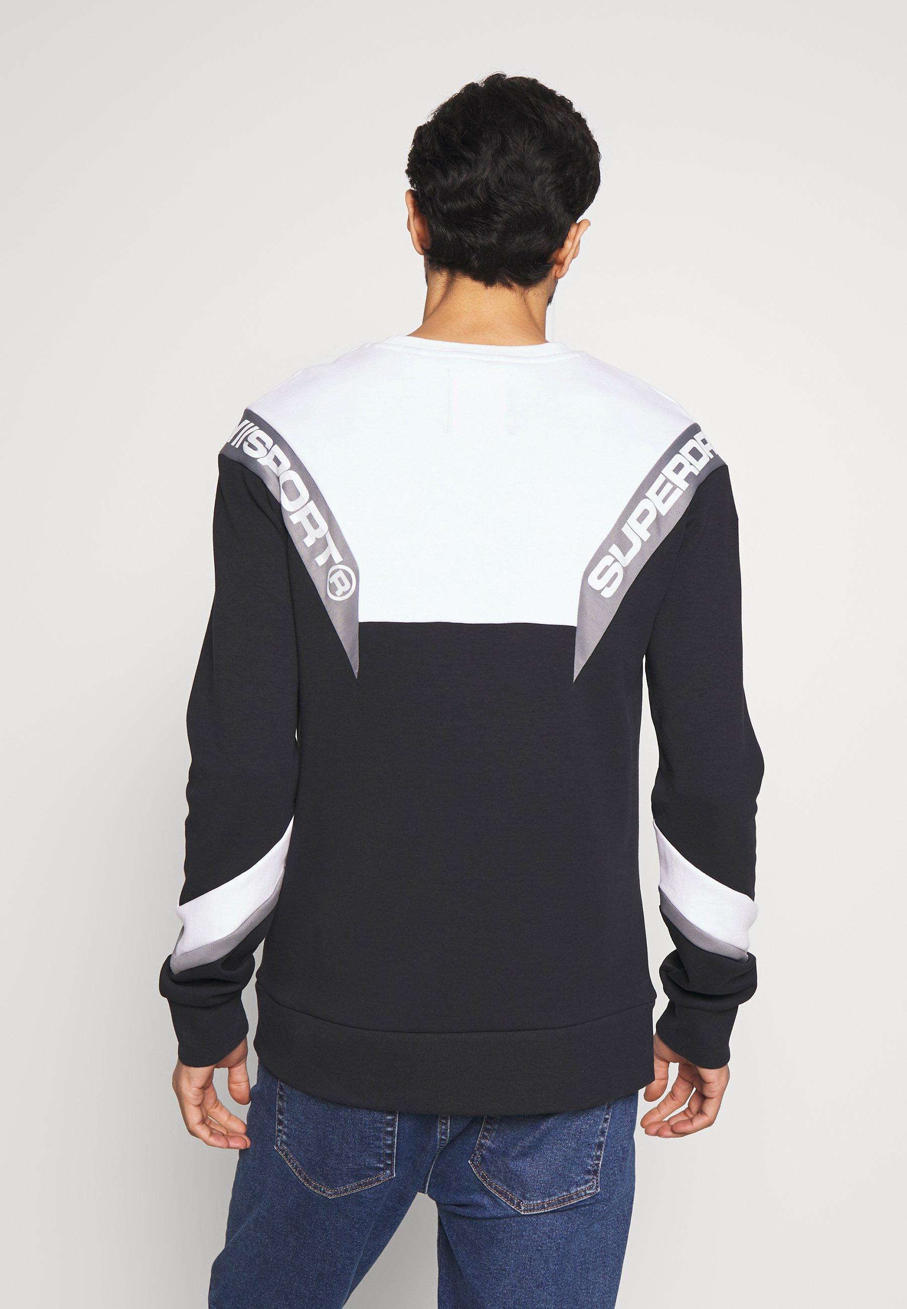 Superdry Track Crew - Sweatshirt Black