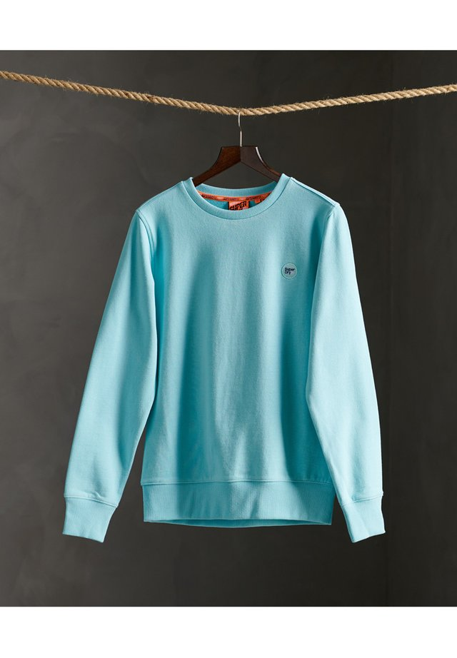 COLLECTIVE CREW - Sweater - pool blue