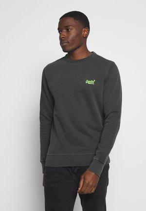 PASTELLINE CREW - Sweatshirt - vintage black