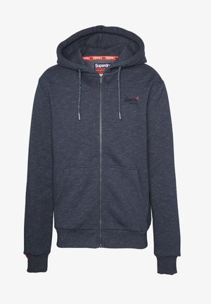 ORANGE LABEL - Hoodie met rits - abyss navy feeder