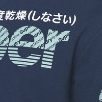 Superdry - CORE SPLIT LOGO ZIP HOOD - Zip-up hoodie - pilot mid blue - 6